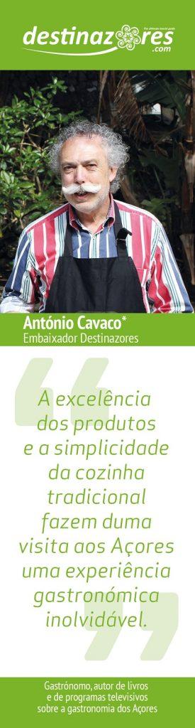 Embaixador António Cavaco